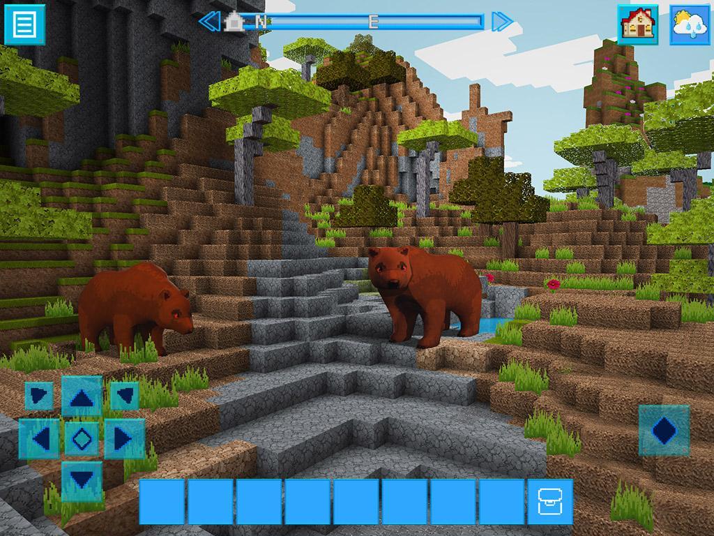 adventurecraft 3d block building survival craft android apps on google play. Black Bedroom Furniture Sets. Home Design Ideas