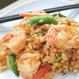Divine Rice with Prawns.