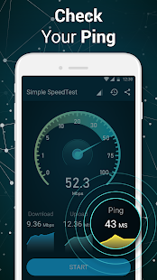 Speed Test - Wi-Fi speedcheck Screenshot