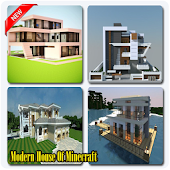 Modern House Of Minecraft