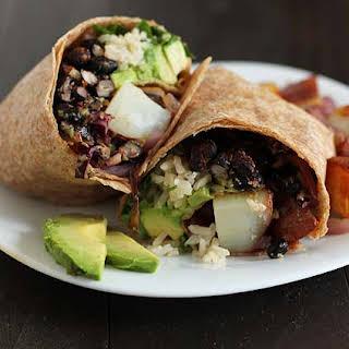 The Vegan Breakfast Burrito.