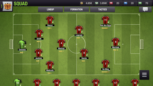 Top Eleven 2018 - Be a Football Manager  screenshots 23