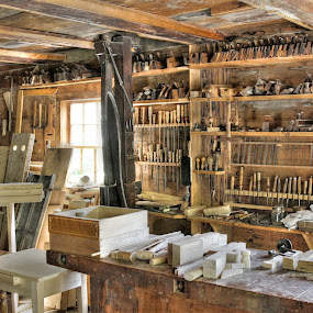 Tools of the Trade by Guy Longtin - Artistic Objects Antiques ( tools, old, antique, hand tools,  )