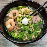 Hu Tieu Nam Vang (Pork & Shrimp W/ Tapioca Noodles)