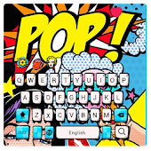 Pop style panda keyboard
