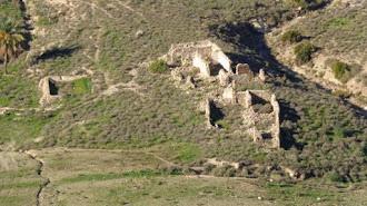 Estado actual del cortijo el Ricardillo, junto la Cala de San Pedro, en Níjar.