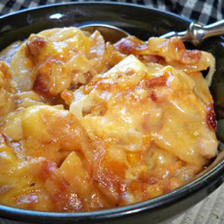 Slow Cooker Ham and Potato Casserole Recipe