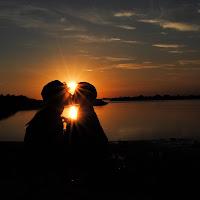 Due cuori e un tramonto  di