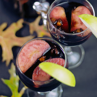 Autumn Clove Spiced Red Wine Sangria.