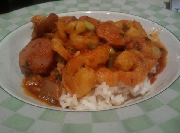 Shrimp And Sausage Stuff Recipe