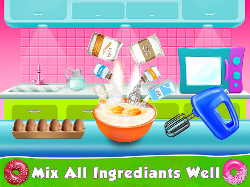 Kids Donut Bakery Food Maker Game 1.0 screenshots 3