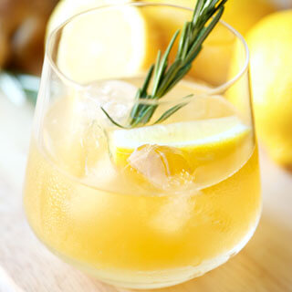Rosemary Ginger Whiskey Sour Recipe