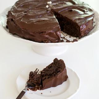 Chocolate Avocado Cake.
