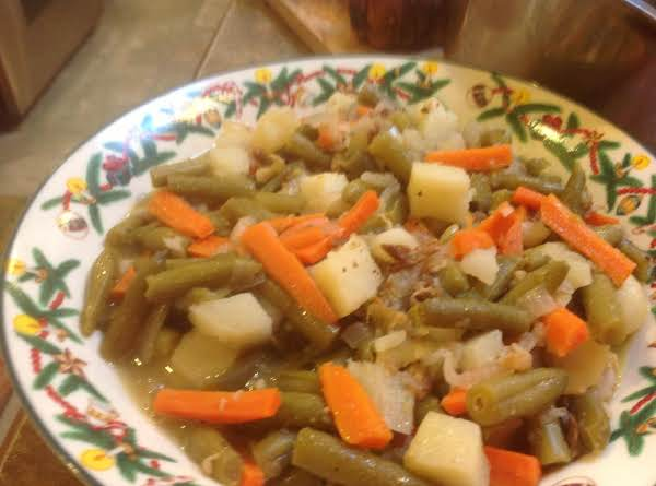 Green Beans W/shallots & Carrots (semi-homemade) Recipe