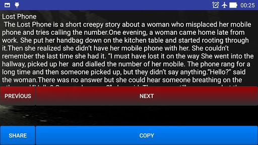 Scary Stories Screenshot