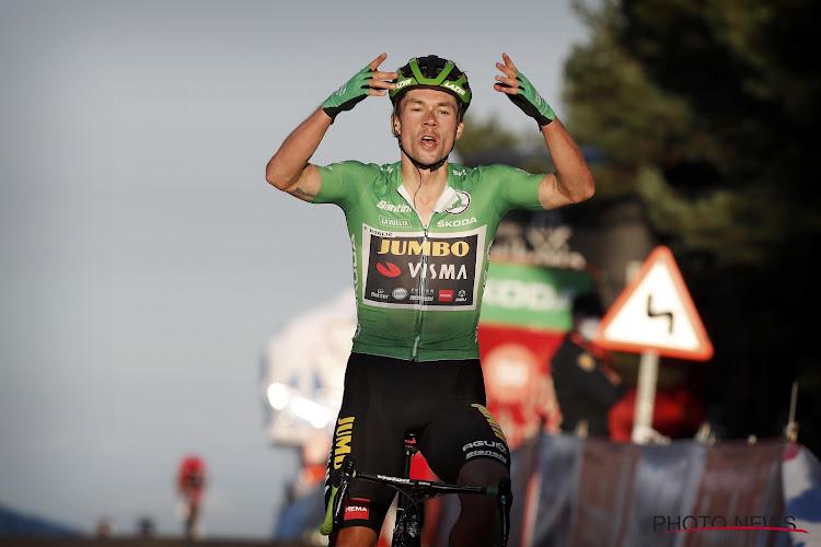 Primoz Roglic slaat opnieuw toe en heeft derde ritzege beet in deze Vuelta