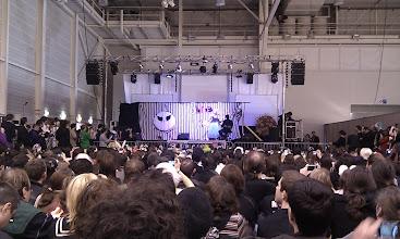 Photo: Un show cosplay sur l'univers cinématographique de Tim Burton. Très réussi !
