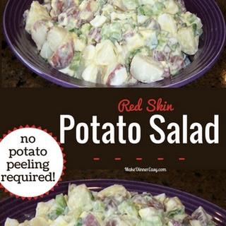 Red Skin Potato Salad.