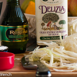 Coleslaw with Oil & Vinegar Dressing.