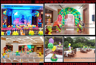 Photo: Cartoon Jungle Theme Modern Entertainment is a leading and skilled Event Management Company based out in Chennai, India. We see ourselves as an epitome of brilliance and Beauty. Decorators For Birthday Partys.. and creates Brilliance at our outstanding innovations, design techniques and Beauty with our overall output. Just Ones Step in to Our site to see wonders of creations www.moderneventmakers.com  A Worldclass birthday party organiser in chennnai Mr.Akhil : +91 9884378857  Fa More info Vist :  www.moderneventmakers.com   Mail : moderneventmakers@gmail.com   Feel Free to CAll Us : +919884378857  Home www.moderneventmakers.com