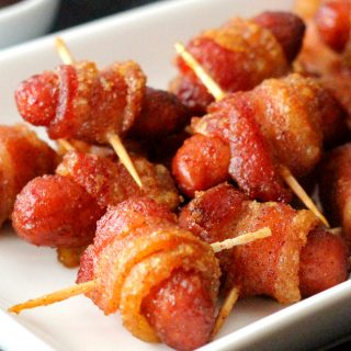 Bacon Wrapped Brown Sugar Smokies Recipe