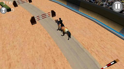 Horse Steeplechase 3D
