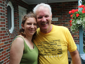 Photo: #Wewearlivestrong for HOPE! #ThisFightIsPersonal #LIVESTRONG #TEAMNANNY #FightLikeHell http://lvstr.ng/1oguPxL