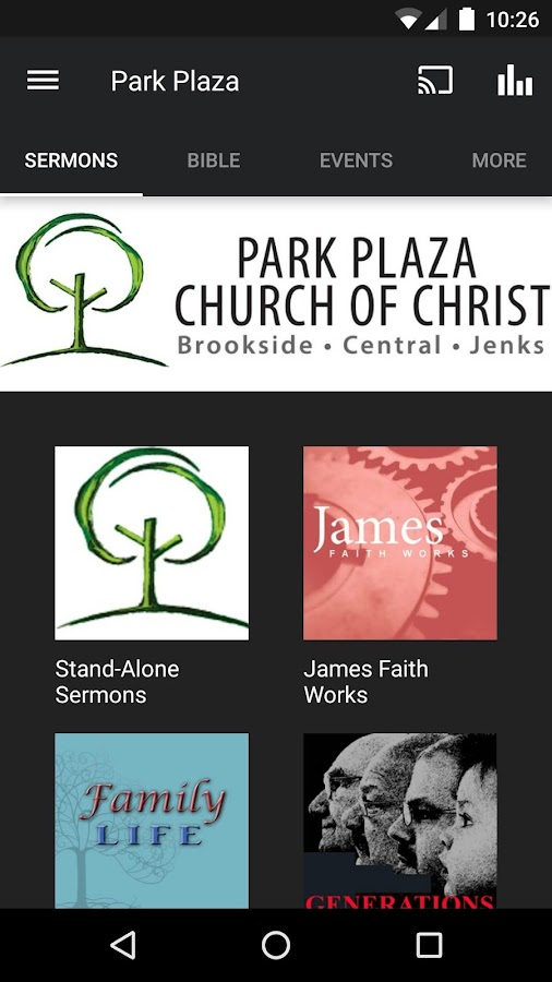 Park Plaza Church of Christ- screenshot
