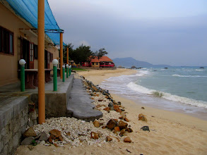 Photo: Year 2 Day 19 -  The View of Ca Na Beach from the Restaurant