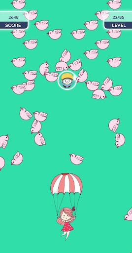 Code Triche Rise up love - most addictive balloon game apk mod screenshots 2
