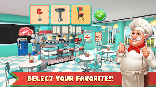 Cooking Home: Design Home in Restaurant Games 1.0.10 screenshots 2