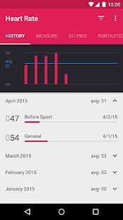 Runtastic Heart Rate Monitor - screenshot thumbnail