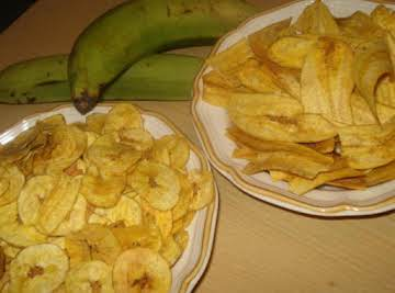 Chicharitas or Mariquitas (Cuban Plantain Chips)