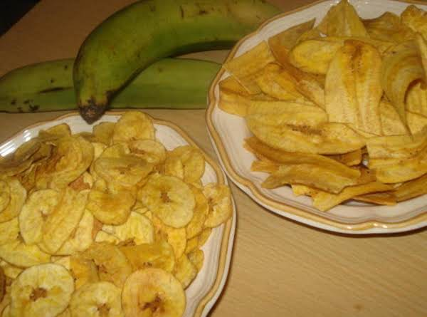 Chicharitas Or Mariquitas (cuban Plantain Chips)