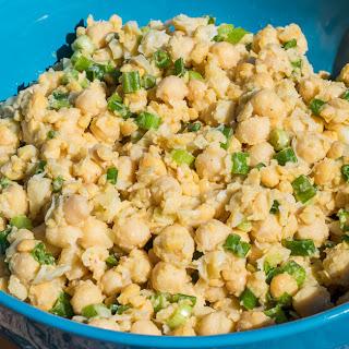 4 Ingredient Chickpea Salad