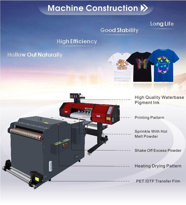 sablon digital heat transfer film powder