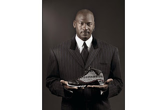 Photo: ** RETRANSMIT WITH BETTER RESOLUTION ** In a photo released by Nike Inc., Michael Jordan poses with the new Air Jordan XX3 basketball shoe.  The Air Jordan XX3 will be released in three hyped-up rounds from January to February, starting with a limited edition to be sent to only 23 retailers to be sold for $230 and concluding with the national launch at $185. (AP Photo/Nike, Inc.)???