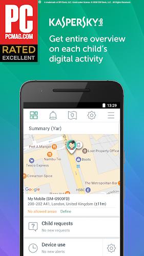 Kaspersky SafeKids Beta Android App Screenshot