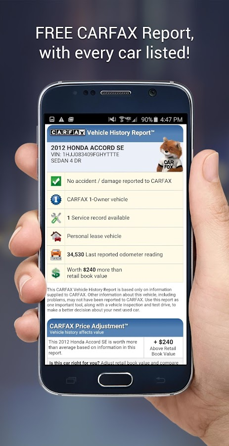 CARFAX Find Used Cars for Sale- screenshot