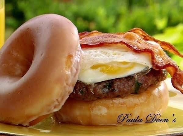 The Lady's Brunch Burger...pauladeen Recipe