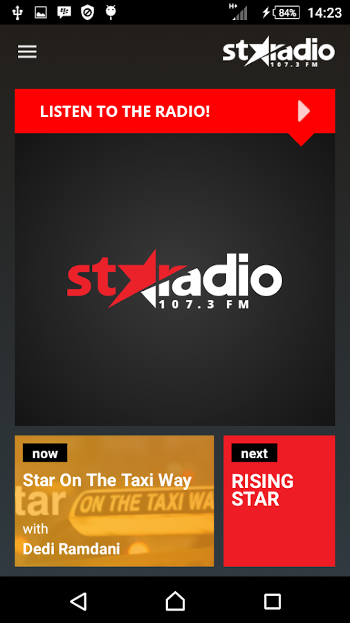 STARADIO 1073 FM- screenshot