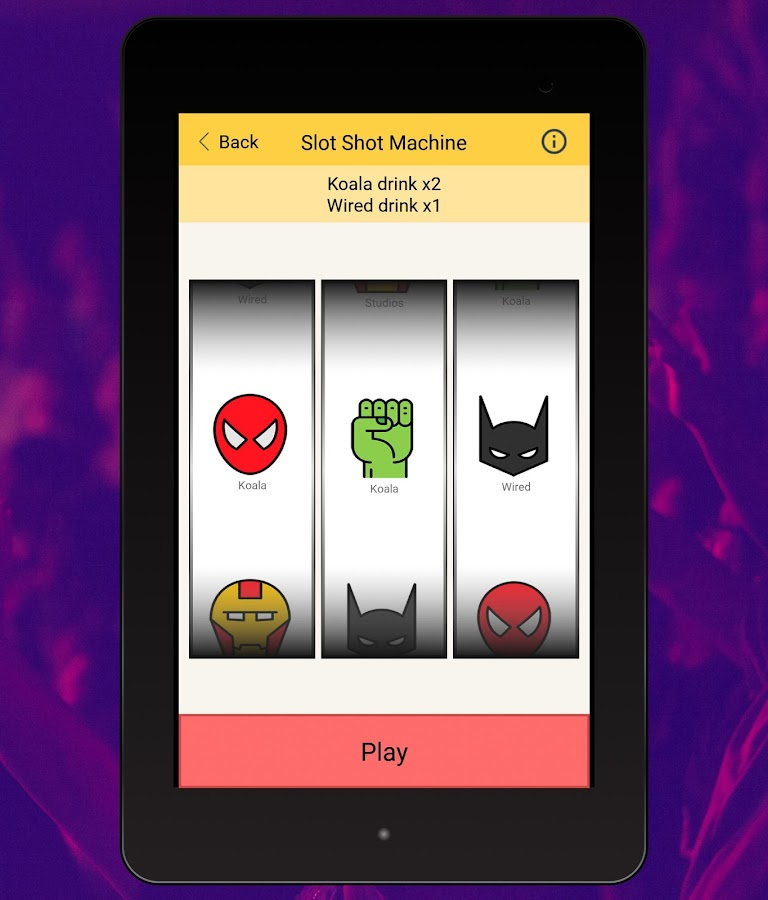 Game Of Shots Drinking Games Screenshot