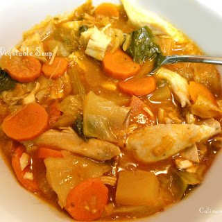 Turkey (or Chicken) Vegetable Soup