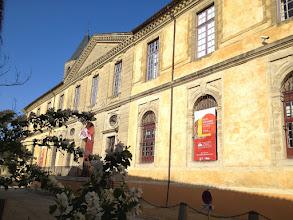 Photo: L' entrée de l'Abbaye-école