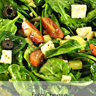 Spinach and Feta Cheese Salad.