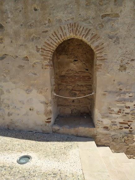 Puerta de Socorro o de la traición ubicada en la muralla norte