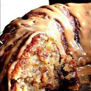 Brown Sugar Carmel Pound Cake.