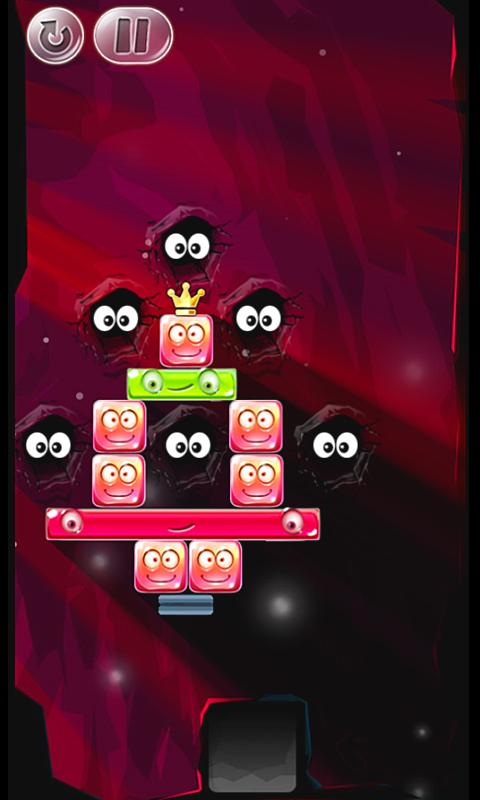 Crystal Stacker- screenshot