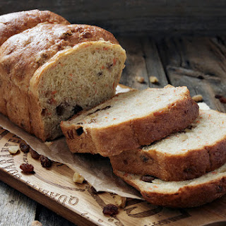 Carrot Raisin and Walnut Yeast Bread.