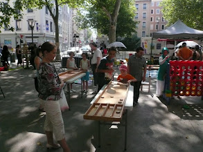 Photo: place Voltaire 16 juillet
